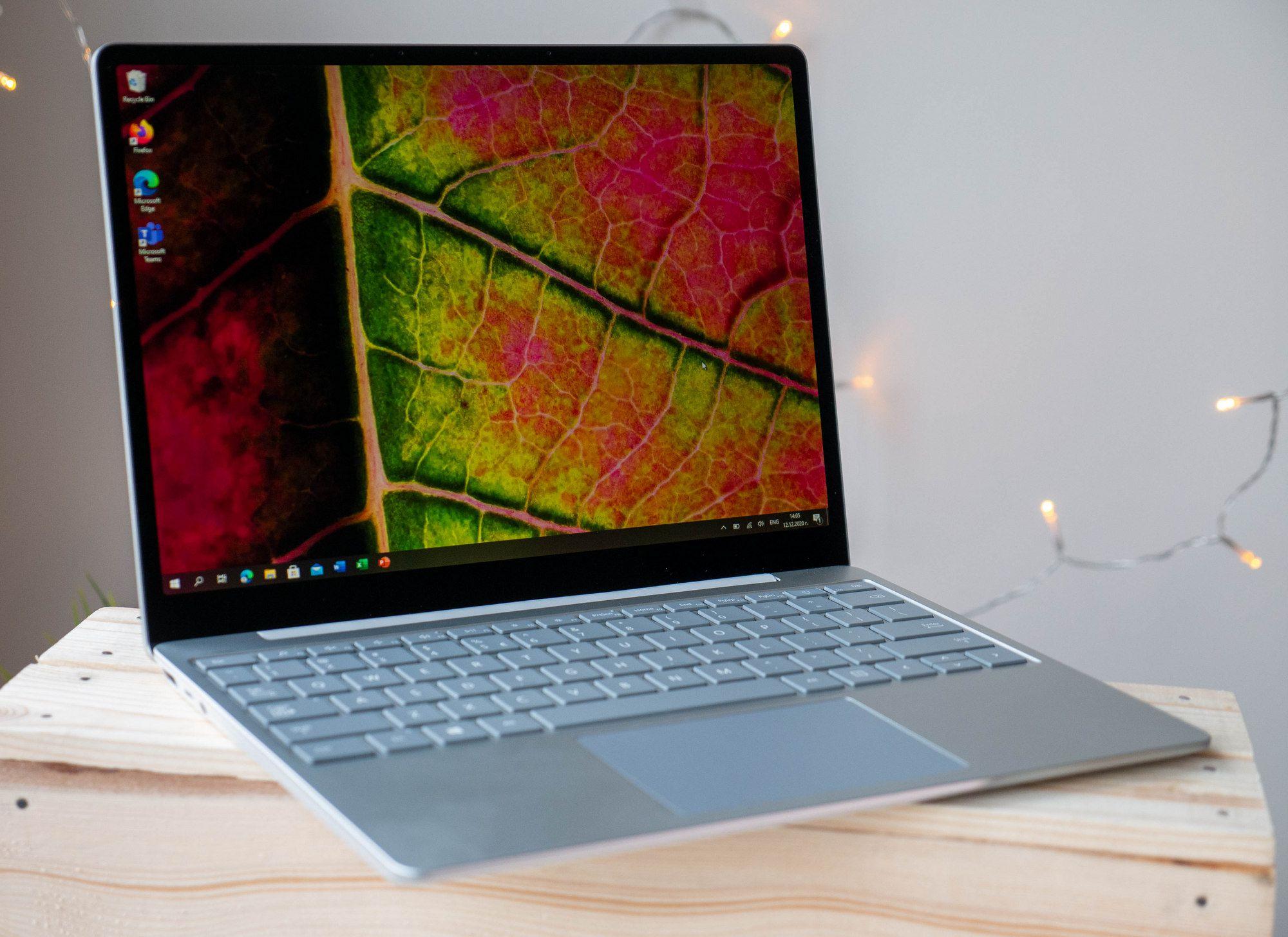 Обзор Microsoft Surface Laptop Go